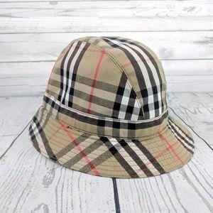 Burberrys VTG Nova Check Bucket Hat